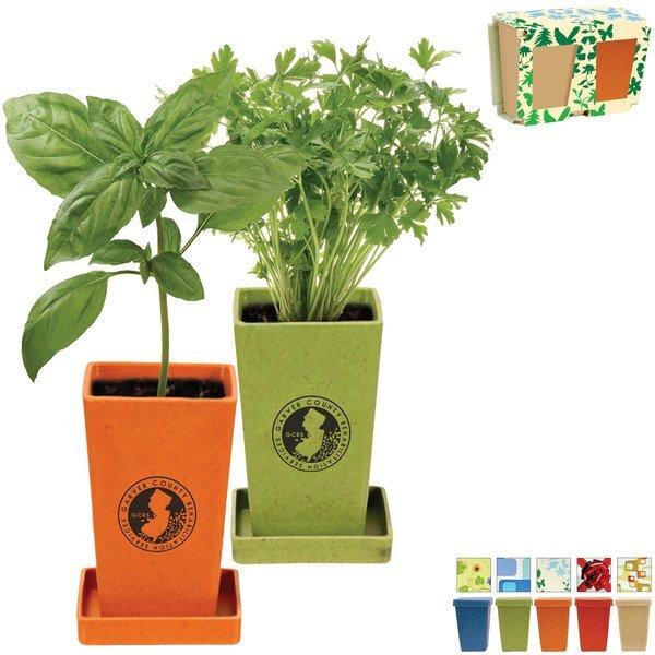 Herb Planter Garden Set, 2 Pack