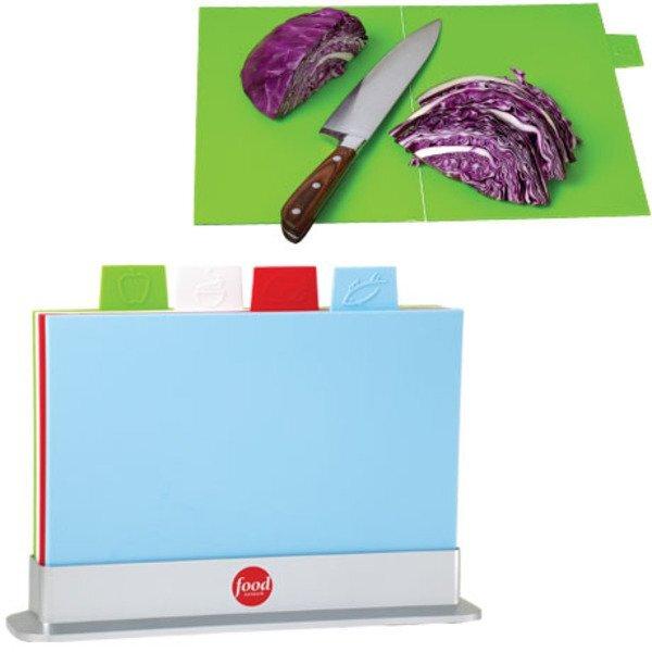 Five-Piece Folding Cutting Board Set