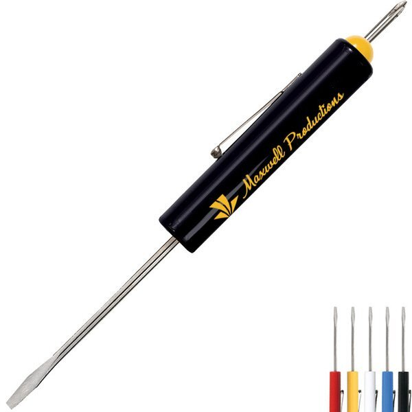 Fixed Standard Screwdriver w/ Phillips Top