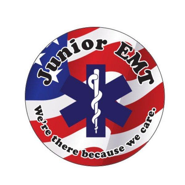 Junior EMT Sticker Roll, Stock