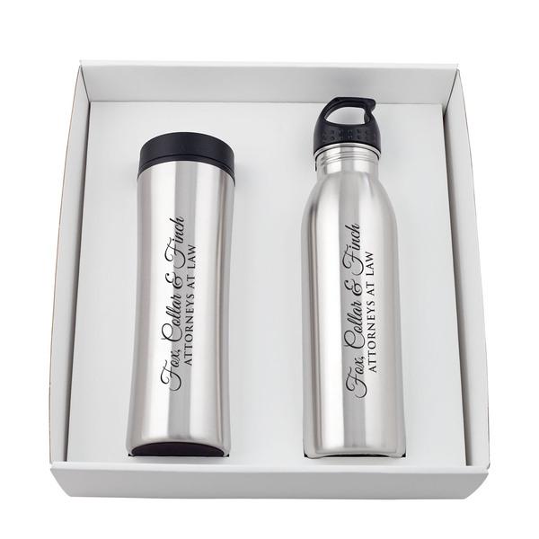 Adelanto Bottle & Tumbler Gift Set