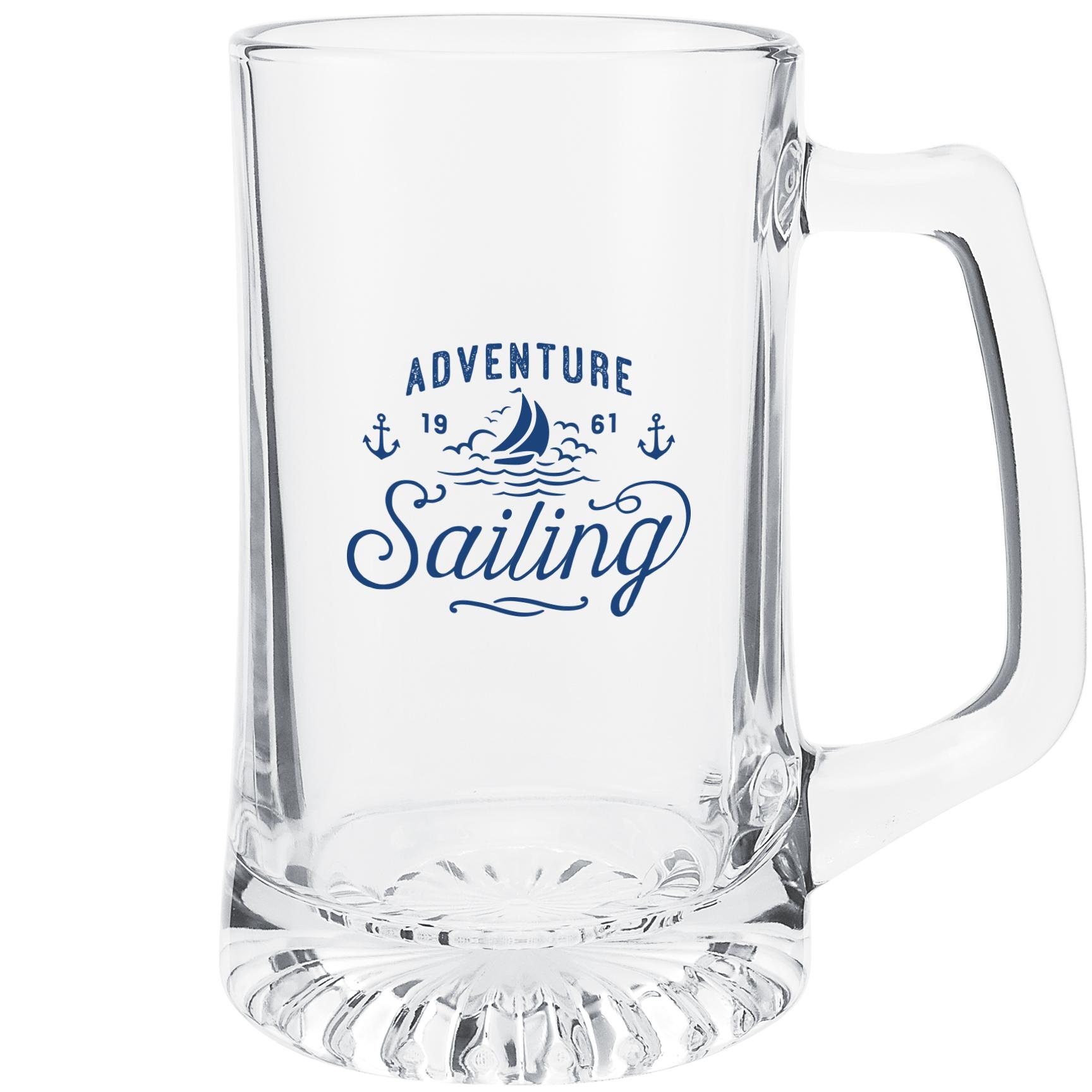 Glass Sport Mug, 25oz.