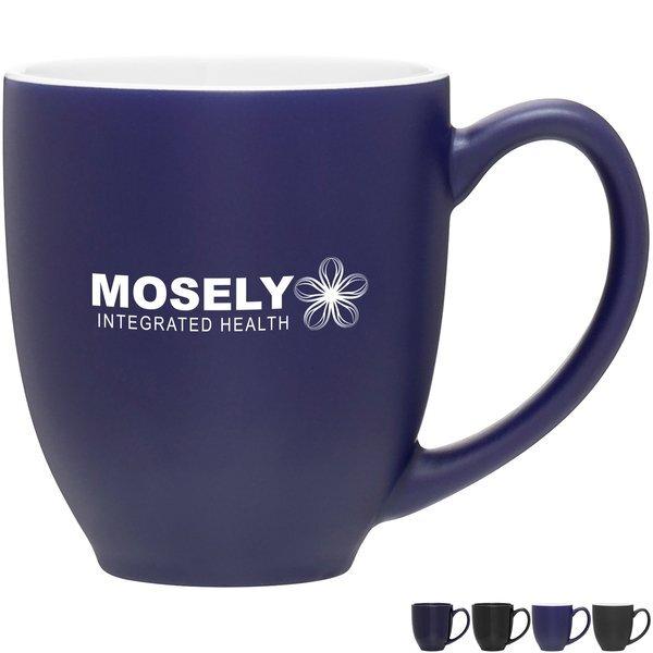 Glossy Bistro Mug, 15 oz. - Dark Colors