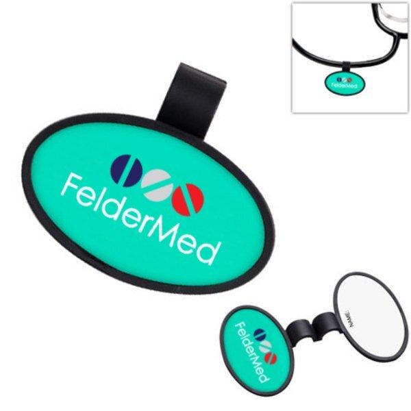 Anti-Microbial Oval Stethoscope ID Tag