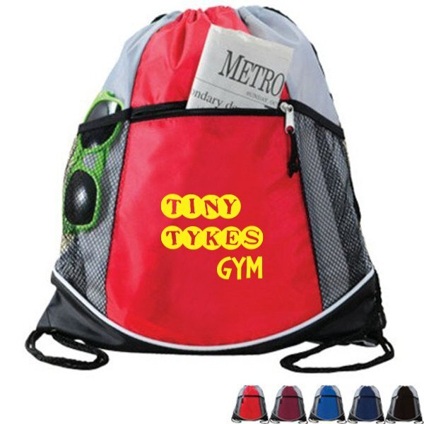 Double Take 210D Polyester Drawstring Cinchpack