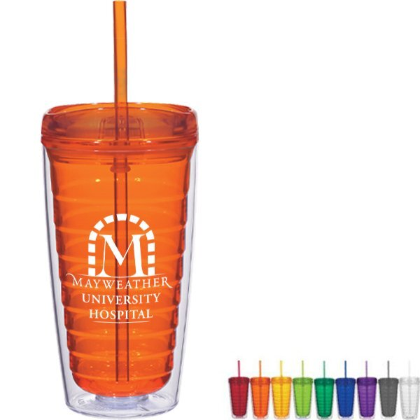 Deluxe Acrylic Travel Tumbler, 16oz.
