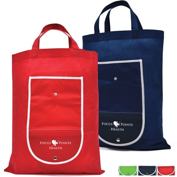 Fold-Up Non-Woven Shopper
