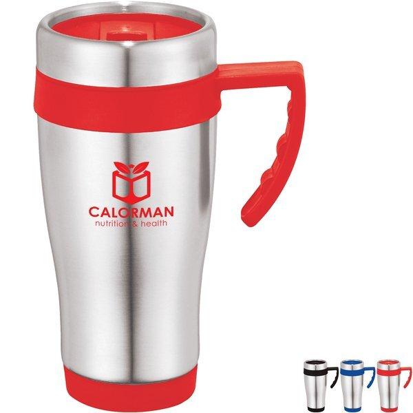 Della Travel Mug, 15oz., BPA Free
