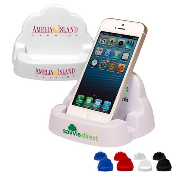 Cloud Phone Stand Stress Reliever
