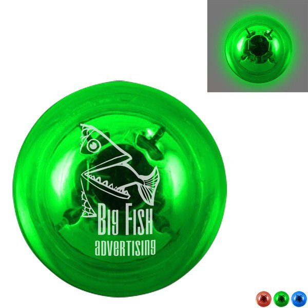 Clear Flashing Light Ball