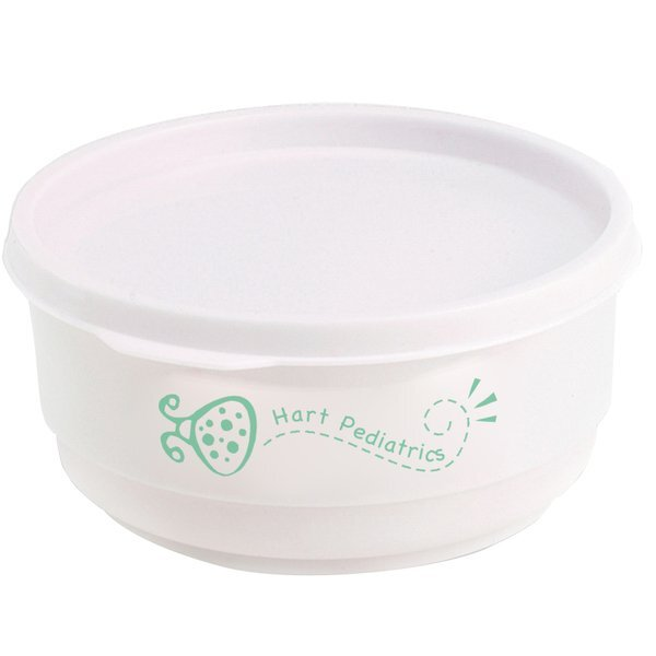 Baby Bowl w/ Snap On Lid, 16oz.