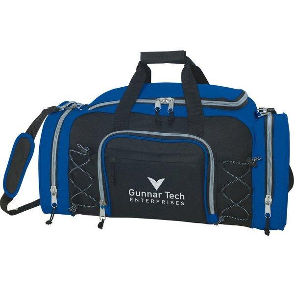 "Getaway 23"" Sporty Deluxe Polycanvas Duffel Bag"