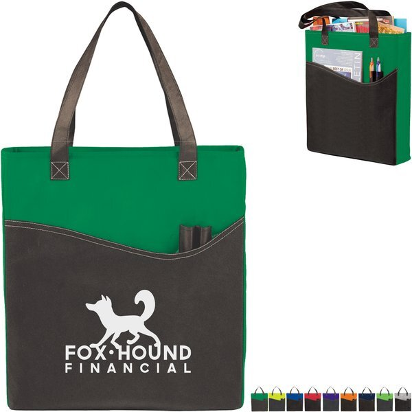Rivers Non-Woven Pocket Convention Tote