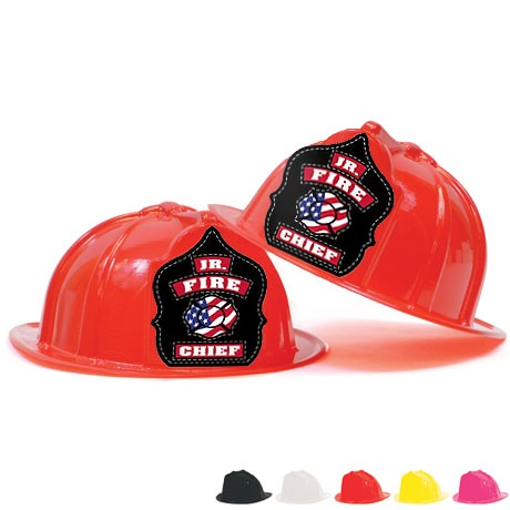 Fire Station Favorite Hat, Jr. Fire Chief Design, Stock - Closeout, While Supplies Last!