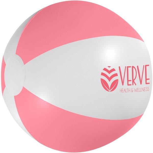 """Neon Pink Beach Ball, 16"""""""