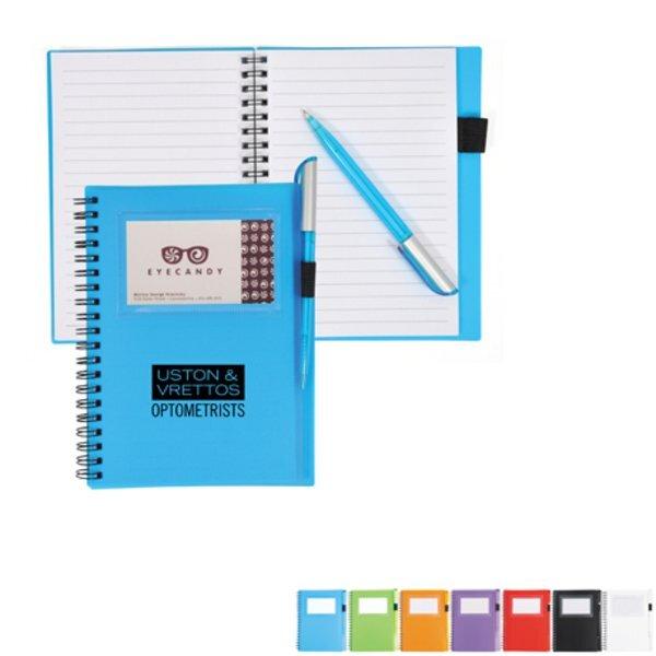 """Spiral Notebook w/ Card Slot, 7"""" x 5-2/5"""""""