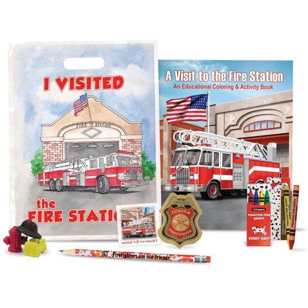 Fire Safety Grab Bag Kit, Stock