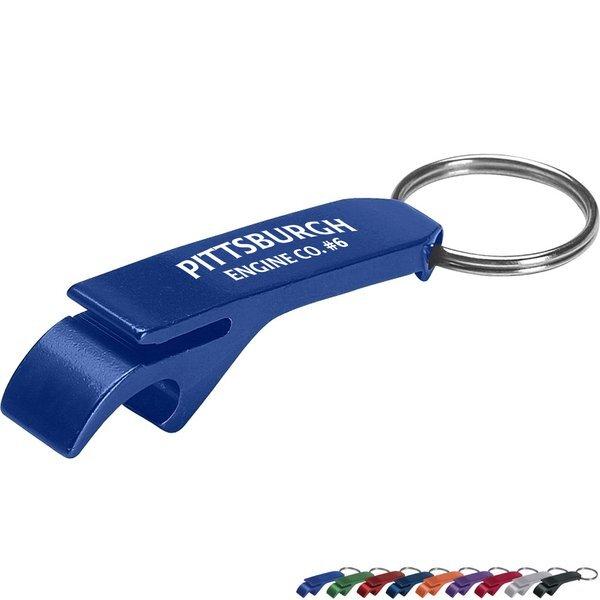 Aluminum Bottle & Can Opener Key Ring