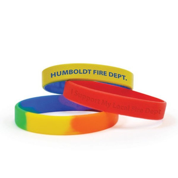 Custom Color Awareness Bracelet Silicone Wristband - Free Shipping!
