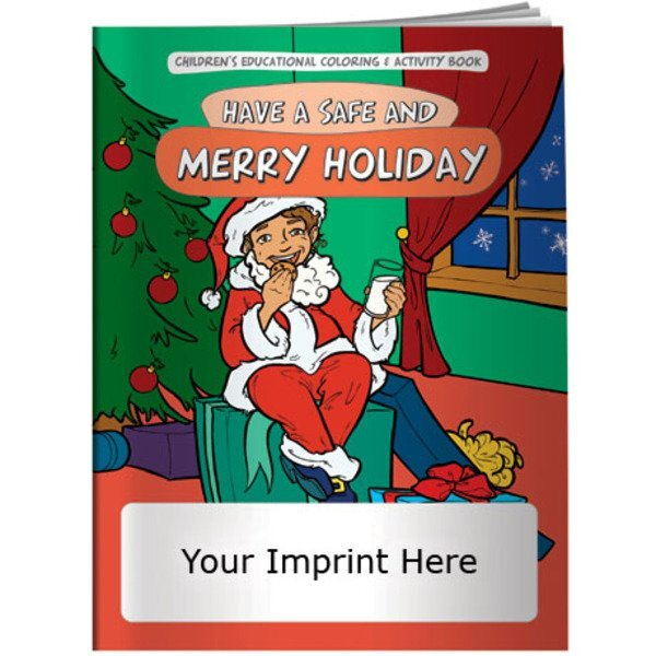 Have a Safe and Merry Holiday Coloring & Activity Book
