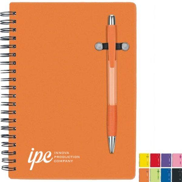 """Pen Buddy Notebook, 5"""" x 7"""""""