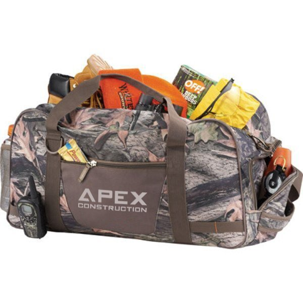 Hunt Valley Camo Polyester Duffel Bag, 22""