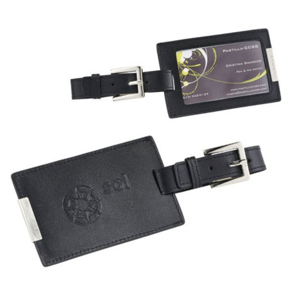 Cross® Leather Luggage Tag