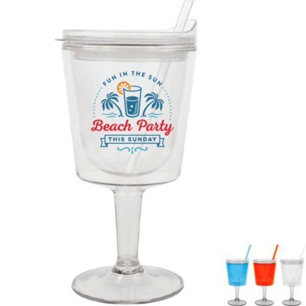 Islander Full Color Cocktail Tumbler, 12oz. w/ Full Color Imprint