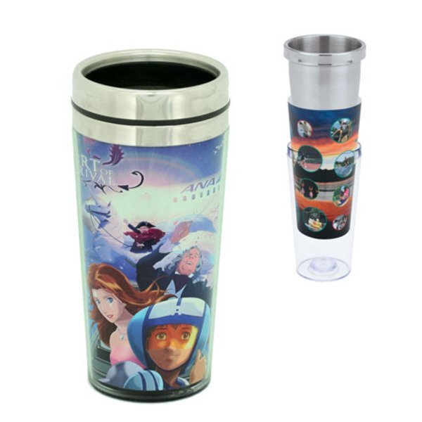 Rosenquist Full Color Stainless and Acrylic Tumbler, 16oz. w/ Full Color Imprint