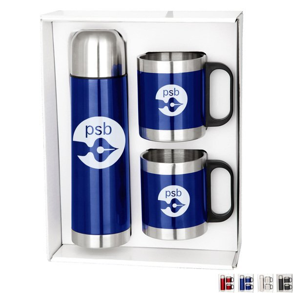 Dixon Stainless Steel Mug & Thermos Set
