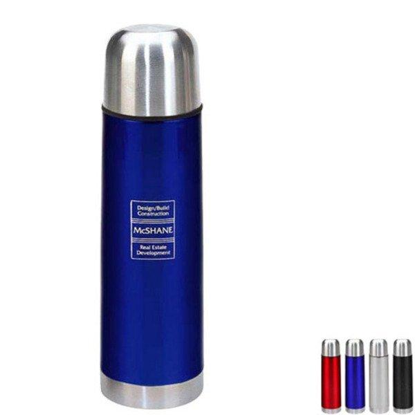 Brea Stainless Steel Vacuum Bottle, 16.5oz.