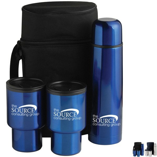 Bari Bottle & Travel Mug Gift Set, BPA Free