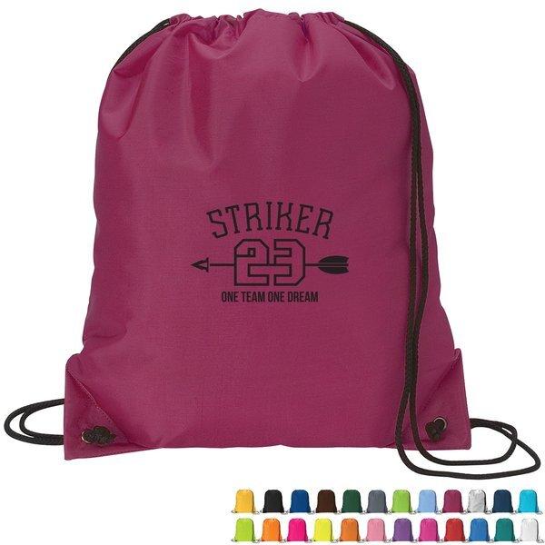 Sturdy 210D Polyester Drawstring Sport Pack