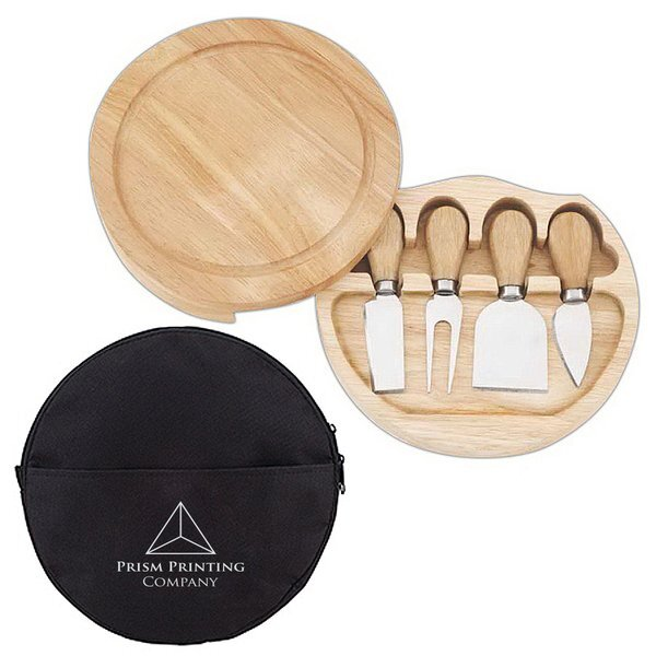 Swivel Cheese Board Set
