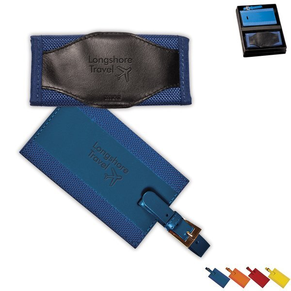 Leeman™ Majestic Luggage Tag & Luggage Handle Wrap Gift Set