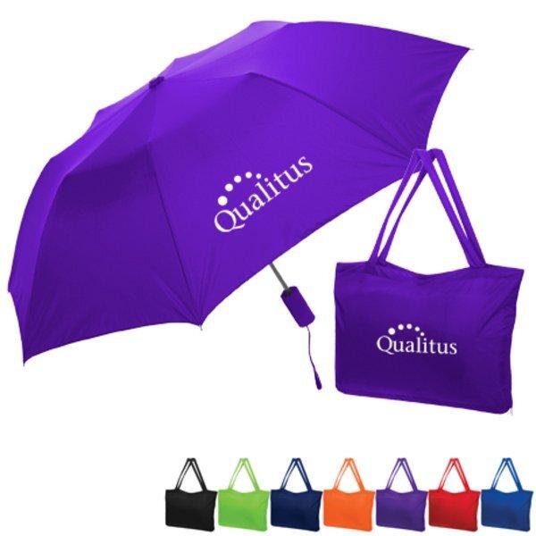 """Umbrella & Bag Combo, 42"""" Arc"""