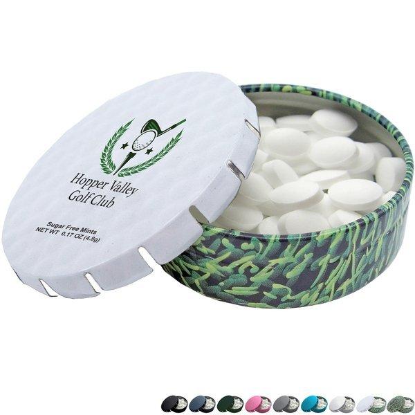 Sugar Free Mints in Mini Klick Tin, .17oz.
