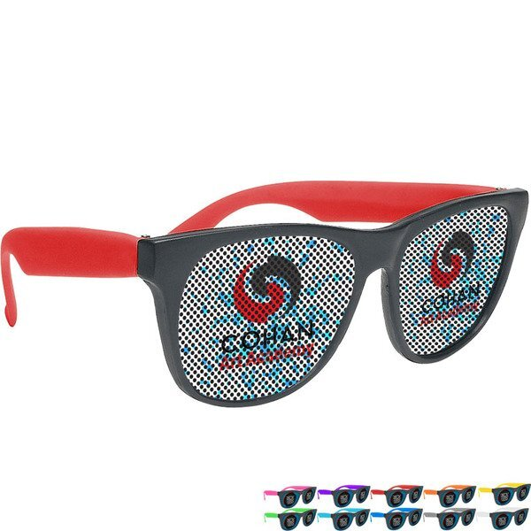 Magic Lens Vibrant Trim Sunglasses