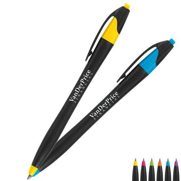 Dart Black Barrel Pen