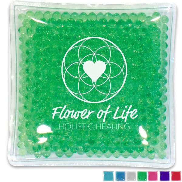 """Gel Bead Hot & Cold Pack, 4"""" x 4"""""""