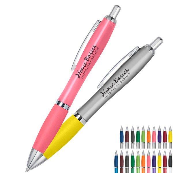 Satin Retractable Ballpoint Pen