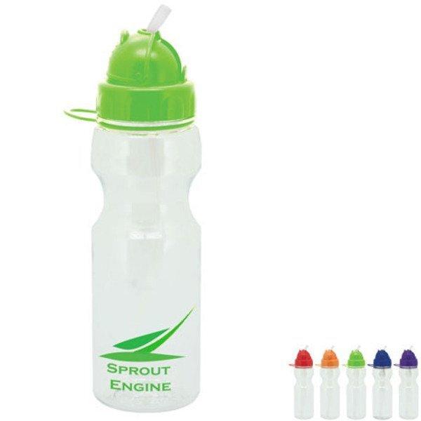 Astro Plastic Dome Water Bottle,  22oz.