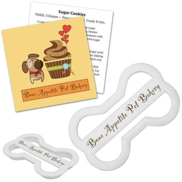 Dog Bone Plastic Cookie Cutter