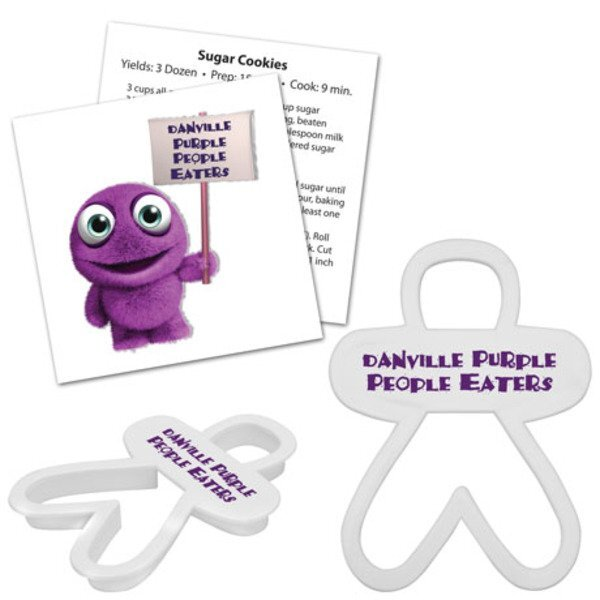 Person/Gingerbread Man Plastic Cookie Cutter