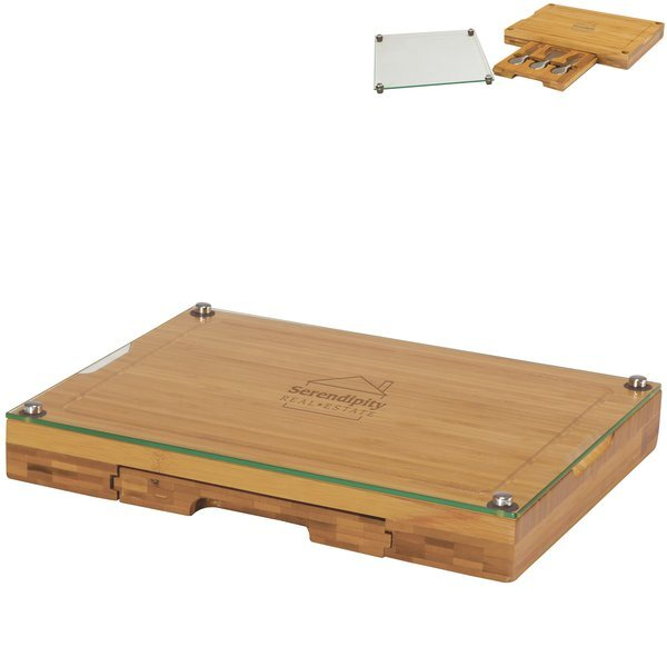 Concerto Glass Top Cutting Board Set