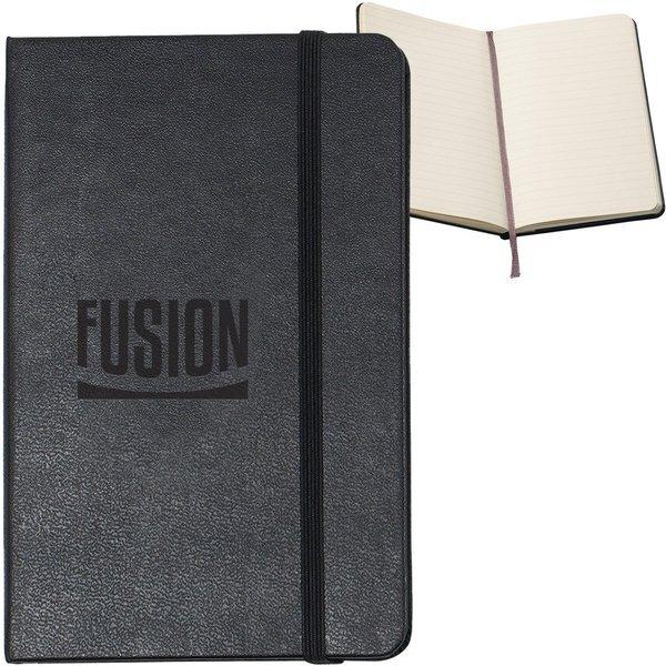 "Moleskine® Hard Cover Ruled Pocket Notebook, 3-1/2"" x 5-1/2"""