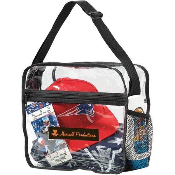 Clear PVC Event Messenger Bag