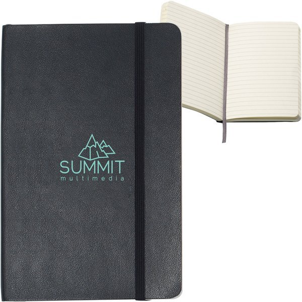 "Moleskine® Soft Cover Ruled Pocket Notebook, 3-1/2"" x 5-1/2"""
