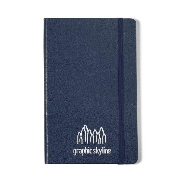 "Moleskine® Hard Cover Ruled Large Notebook, 5"" x 8-1/4"""