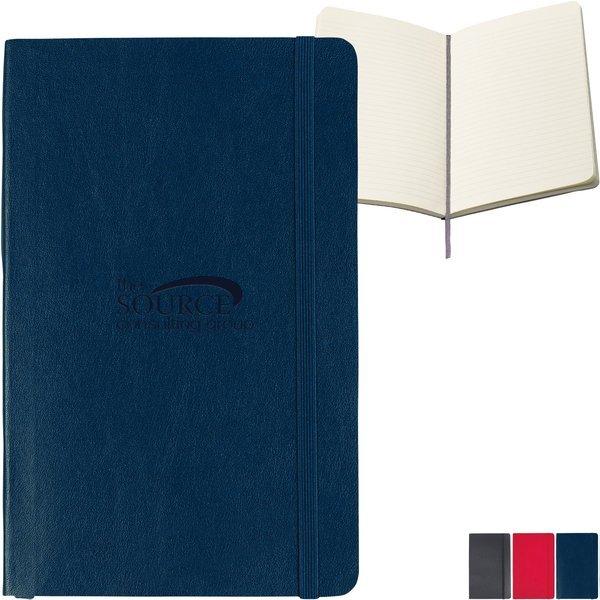 "Moleskine® Soft Cover Ruled Large Notebook, 5"" x 8-1/4"""